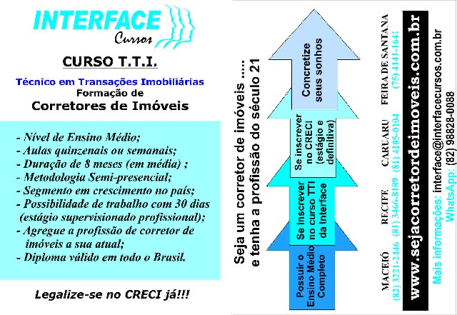 Foto 2 - Curso TTI Interface Cursos
