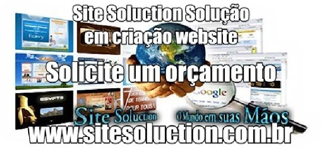 Foto 1 - Site Soluction Criação website