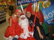 papai noel com barba natural /sp